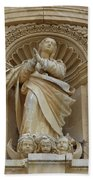 Heavenly Statue Beach Towel
