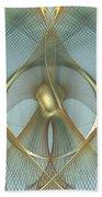 Heavenly Wings Of Gold Beach Sheet