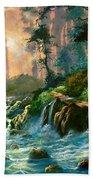 Heaven's Light Beach Towel