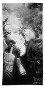 Hector Berlioz, French Composer Beach Towel