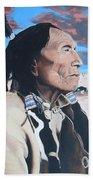 Hehaka Sapa Black Elk Beach Towel