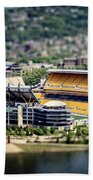 Heinz Field Pittsburgh Steelers Beach Towel
