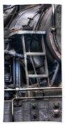 Heisler Steam Engine Beach Towel