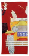 Held: Sheik & Sheba, 1925 Beach Towel