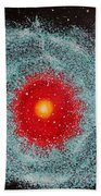 Helix Nebula Beach Towel by Georgeta  Blanaru