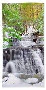 Hells Hollow Falls 1 Beach Towel