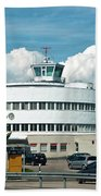 Helsinki - Malmi Airport Building Beach Towel