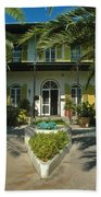 Hemingways House Key West Beach Towel