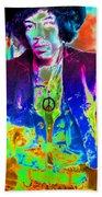 Hendrix Beach Towel by David Lee Thompson