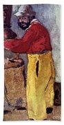 Henri De Toulouse-lautrec Beach Towel