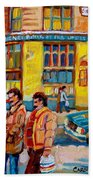 Henry Birks On St Catherine Street Beach Towel