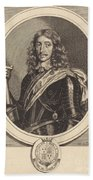 Henry Somerset, 1st Duke Of Beaufort, K.g. Beach Towel