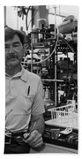 Henry Taube, Canadian-american Chemist Beach Towel