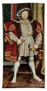 Henry Viii Beach Towel