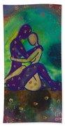 Her Loves Embrace Divine Love Series No. 1006 Beach Sheet