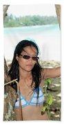 Here I Am Bug Beach Towel