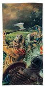 Hereward The Wake Beach Towel