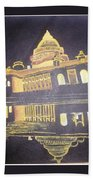 heritage of india - The president house Beach Towel