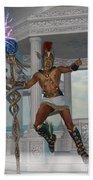 Hermes Messenger To The Gods Beach Towel