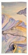 Hermit Beach Towel