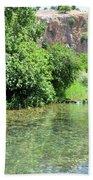 Hermon Stream Nature Reserve Beach Towel