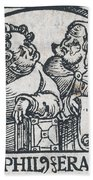 Herophilos, Erasistratus, Ancient Greek Beach Towel