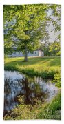 Herrevads Kloster By The Riverside Beach Towel