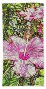 Hibiscus 101516 1a Beach Towel