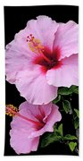 Hibiscus 7 V1 Beach Towel