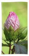 Hibiscus Bud Beauty Beach Towel