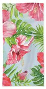 Hibiscus Paradise-jp3965 Beach Towel