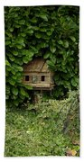 Hidden Birdhouse Beach Towel