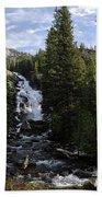 Hidden Falls - Grand Tetons Np Beach Towel