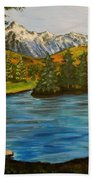 Hidden Lake Beach Towel
