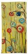 Hidden Poppies Beach Towel by Jennifer Lommers