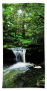 Hidden Rainforest - Painterly Beach Towel