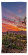 Hidden Valley Sunset Beach Towel