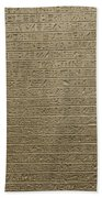Hieroglyph V Beach Towel