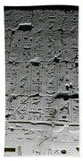 Hieroglyphics Beach Towel