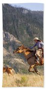 High Country Ride Beach Towel