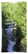 High Falls Gorge Beach Towel
