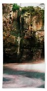 High Force With A Watercolour Effect. Beach Towel