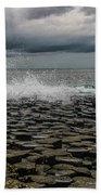 High Low Tide Beach Towel