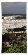 High Ocean Surf Beach Towel