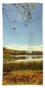High Point Autumn Scenic Beach Towel