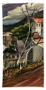 High Road At Jerome Beach Towel