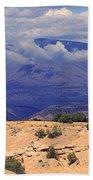High Road To Taos Panorama Beach Towel