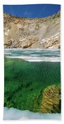High Sierra Tarn Beach Towel