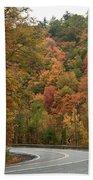 High Walls Of Fall Colors Beach Towel