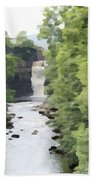 Highforce Waterfall Beach Towel